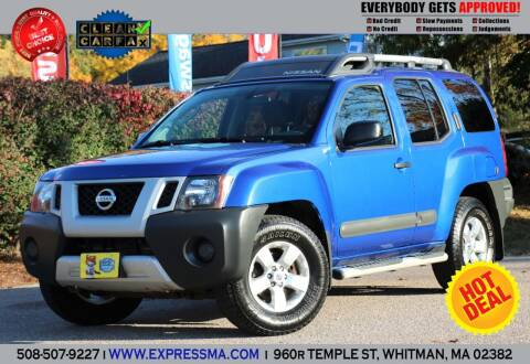 2012 Nissan Xterra for sale at Auto Sales Express in Whitman MA
