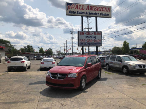 2012 Dodge Grand Caravan for sale at D and D All American Financing in Warren MI
