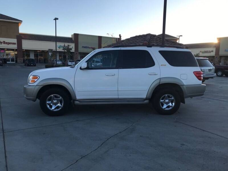 2001 Toyota Sequoia for sale at RN AUTO GROUP in San Bernardino CA