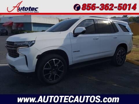 2021 Chevrolet Tahoe for sale at Autotec Auto Sales in Vineland NJ