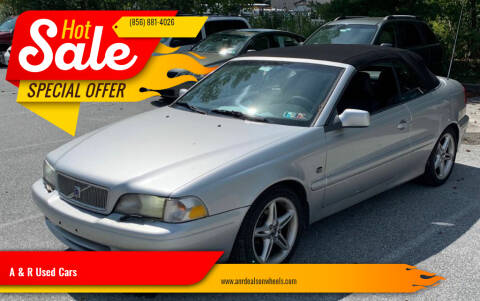 2002 Volvo C70 for sale at A & R Used Cars in Clayton NJ