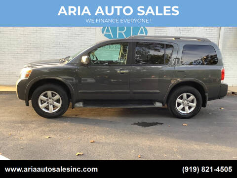 2010 Nissan Armada for sale at ARIA  AUTO  SALES in Raleigh NC