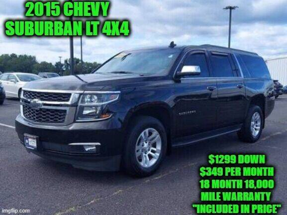 2015 Chevrolet Suburban for sale at D&D Auto Sales, LLC in Rowley MA