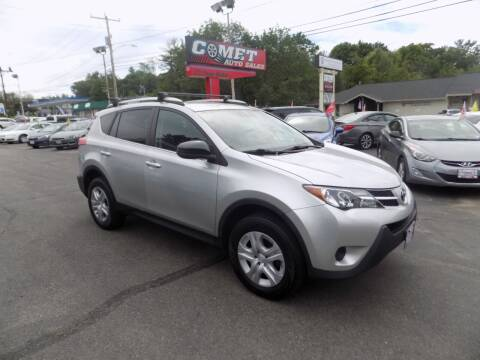 2014 Toyota RAV4 for sale at Comet Auto Sales in Manchester NH