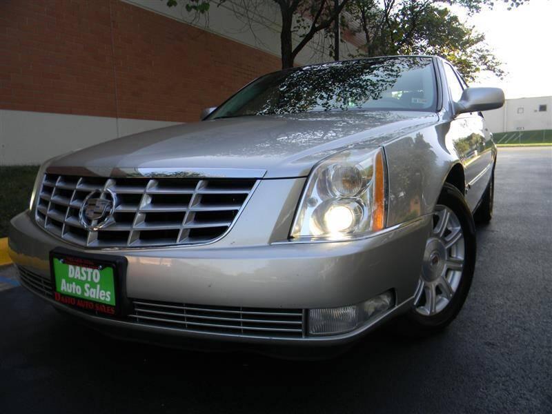 2008 Cadillac DTS for sale at Dasto Auto Sales in Manassas VA
