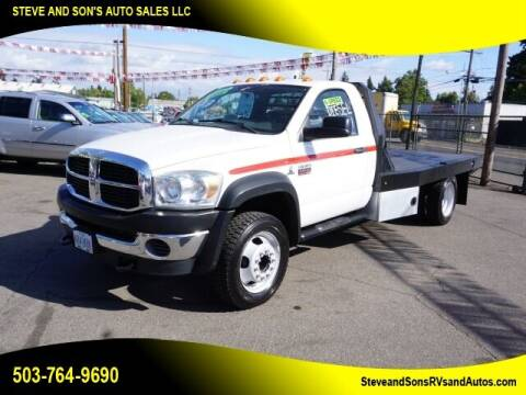2008 Dodge Ram Chassis 4500 for sale at Steve & Sons Auto Sales in Happy Valley OR