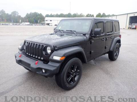 2020 Jeep Wrangler Unlimited for sale at London Auto Sales LLC in London KY