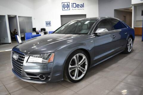 2013 Audi S8 for sale at iDeal Auto Imports in Eden Prairie MN