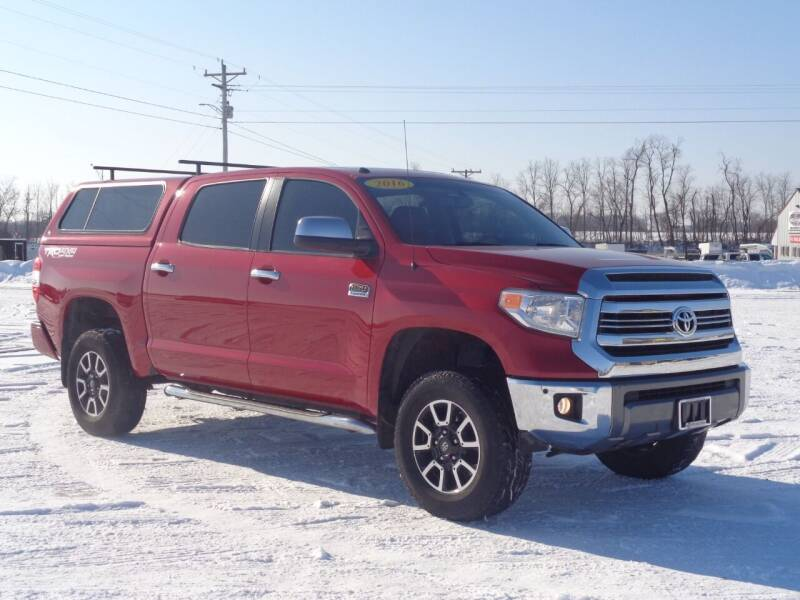 2016 Toyota Tundra for sale at Burkholder Truck Sales LLC (Versailles) in Versailles MO