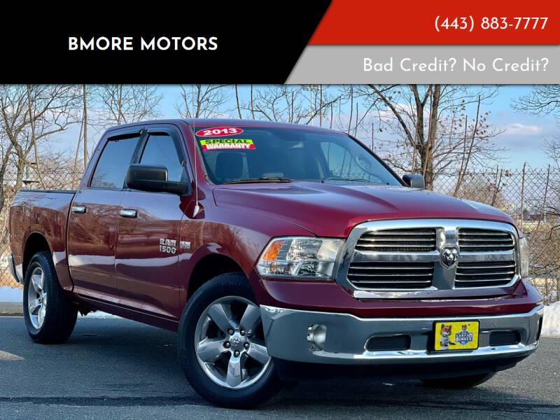 2013 RAM Ram Pickup 1500 for sale at Bmore Motors in Baltimore MD