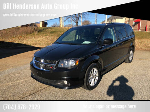 2019 Dodge Grand Caravan for sale at Bill Henderson Auto Group Inc in Statesville NC