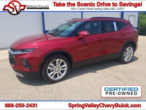 2019 Chevrolet Blazer for sale at Spring Valley Chevrolet Buick in Spring Valley MN