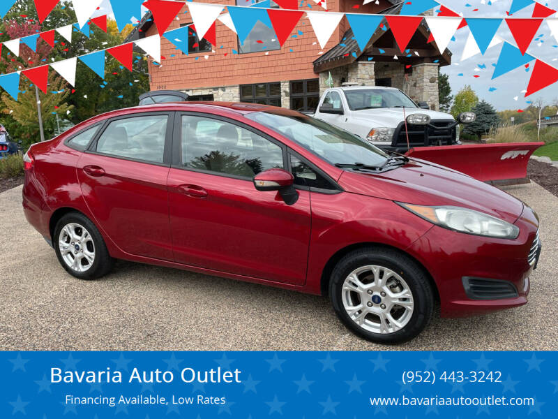 2015 Ford Fiesta for sale at Bavaria Auto Outlet in Victoria MN