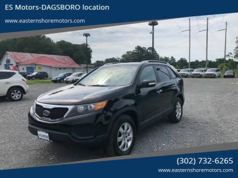 2013 Kia Sorento for sale at ES Motors-DAGSBORO location in Dagsboro DE