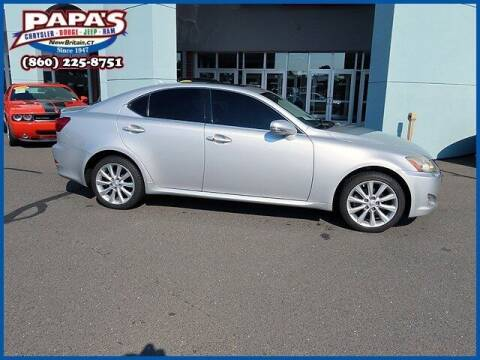 2009 Lexus IS 250 for sale at Papas Chrysler Dodge Jeep Ram in New Britain CT