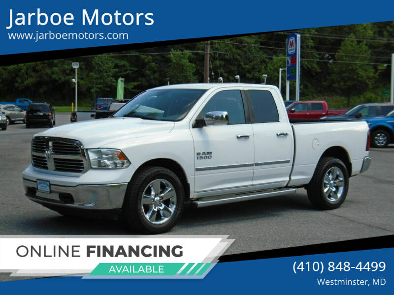 2014 RAM Ram Pickup 1500 for sale at Jarboe Motors in Westminster MD