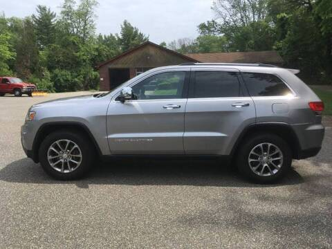 2014 Jeep Grand Cherokee for sale at Lou Rivers Used Cars in Palmer MA