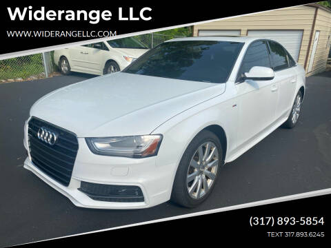 2015 Audi A4 for sale at Widerange LLC in Greenwood IN