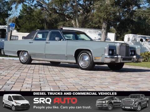 1978 Lincoln Continental for sale at SRQ Auto LLC in Bradenton FL