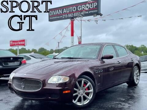 2007 Maserati Quattroporte for sale at Divan Auto Group in Feasterville PA