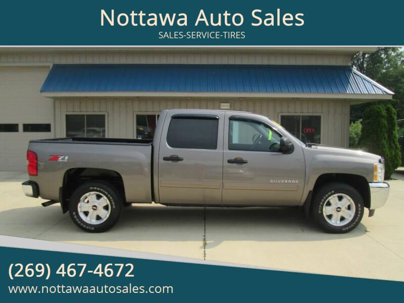 2012 Chevrolet Silverado 1500 for sale at Nottawa Auto Sales in Nottawa MI