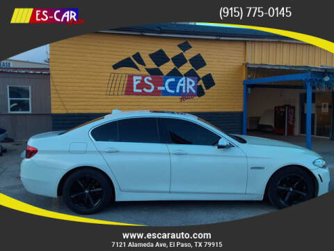 2015 BMW 5 Series for sale at Escar Auto in El Paso TX