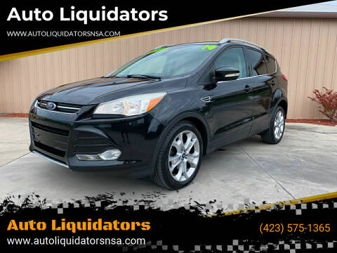 2014 Ford Escape for sale at Auto Liquidators in Bluff City TN