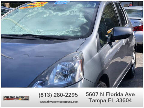 2012 Honda Fit for sale at Drive Now Motors USA in Tampa FL