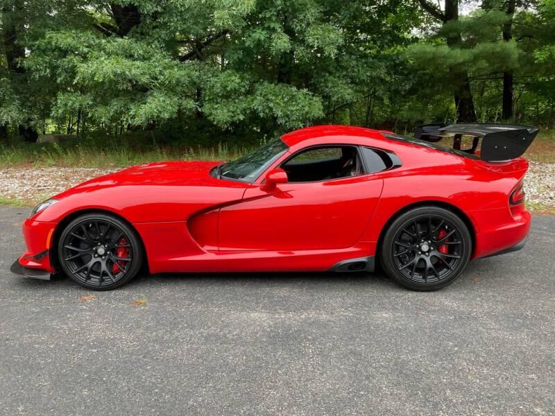 2017 Dodge Viper for sale at Cella  Motors LLC in Auburn NH