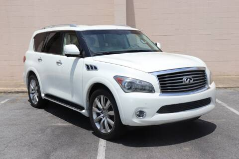 2011 Infiniti QX56 for sale at El Compadre Trucks in Doraville GA