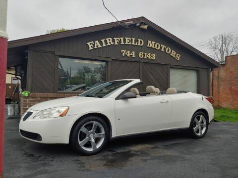 2007 Pontiac G6 for sale at Fairfield Motors in Fort Wayne IN