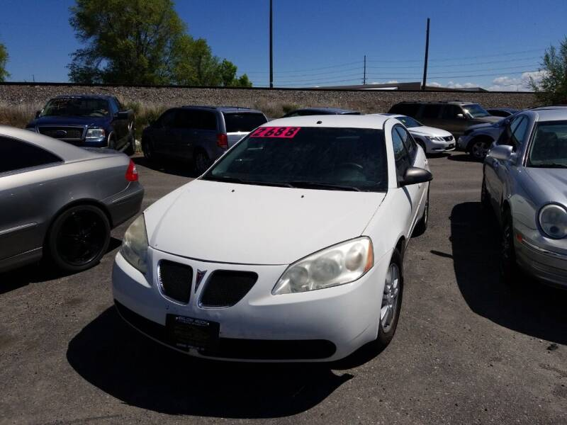 2006 Pontiac G6 for sale at BELOW BOOK AUTO SALES in Idaho Falls ID