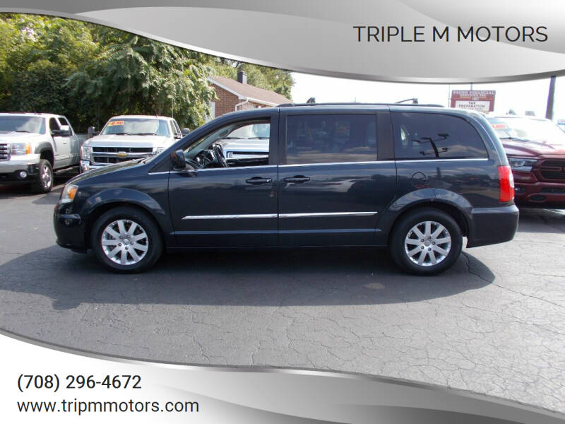 2013 Chrysler Town and Country for sale at Triple M Motors in Saint John IN