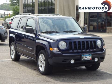 2013 Jeep Patriot for sale at RAVMOTORS 2 in Crystal MN