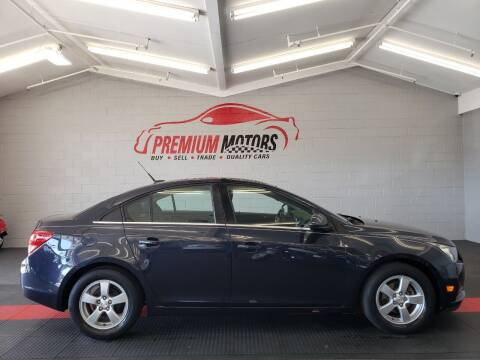 2014 Chevrolet Cruze for sale at Premium Motors in Villa Park IL