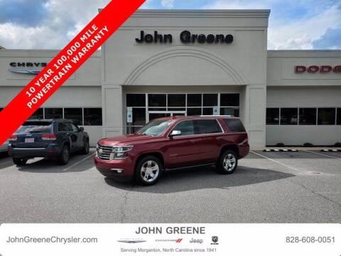 2016 Chevrolet Tahoe for sale at John Greene Chrysler Dodge Jeep Ram in Morganton NC