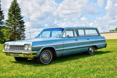 1964 Chevrolet Station Wagon for sale at Hooked On Classics in Watertown MN