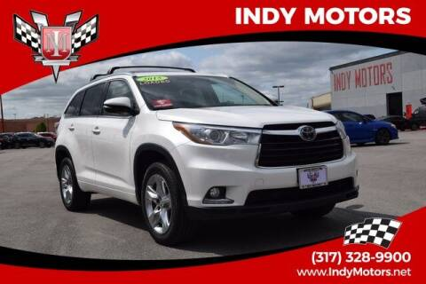 2015 Toyota Highlander for sale at Indy Motors Inc in Indianapolis IN