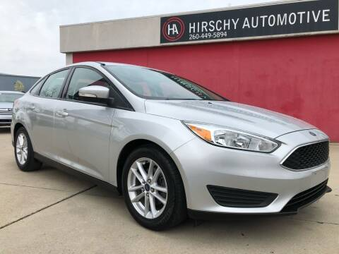 2015 Ford Focus for sale at Hirschy Automotive in Fort Wayne IN