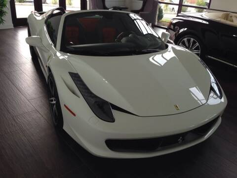 2015 Ferrari 458 Spider for sale at Shedlock Motor Cars LLC in Warren NJ