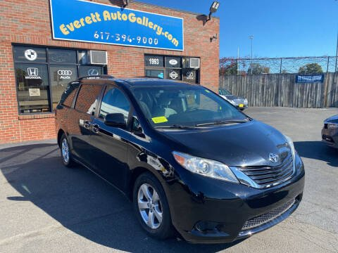 2016 Toyota Sienna for sale at Everett Auto Gallery in Everett MA