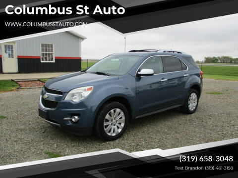 2011 Chevrolet Equinox for sale at Columbus St Auto in Crawfordsville IA