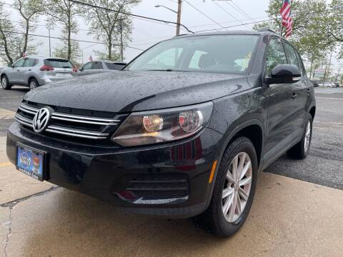 2017 Volkswagen Tiguan for sale at AUTORAMA SALES INC. - Farmingdale in Farmingdale NY