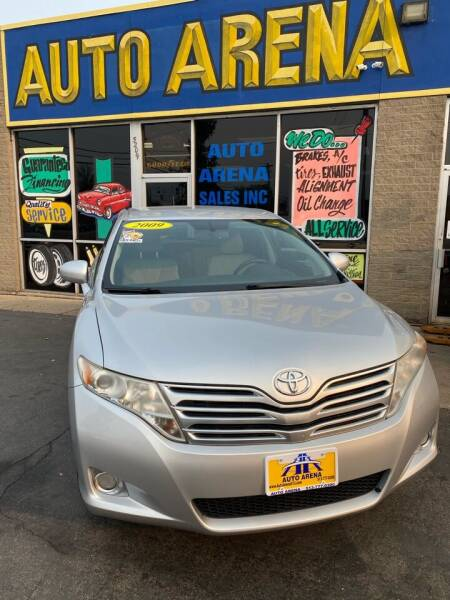 2009 Toyota Venza for sale at Auto Arena in Fairfield OH