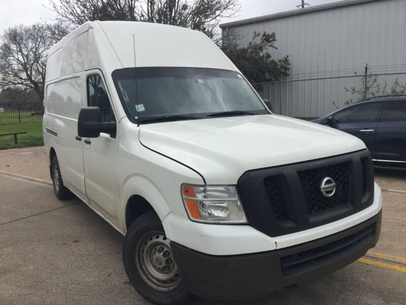 2017 Nissan NV Cargo for sale in Houston, TX