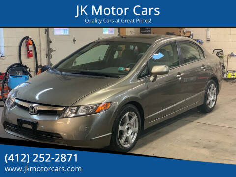 2006 Honda Civic for sale at JK Motor Cars in Pittsburgh PA