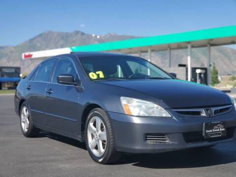 2007 Honda Accord for sale at FRESH TREAD AUTO LLC in Springville UT