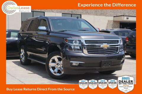 2015 Chevrolet Tahoe for sale at Dallas Auto Finance in Dallas TX