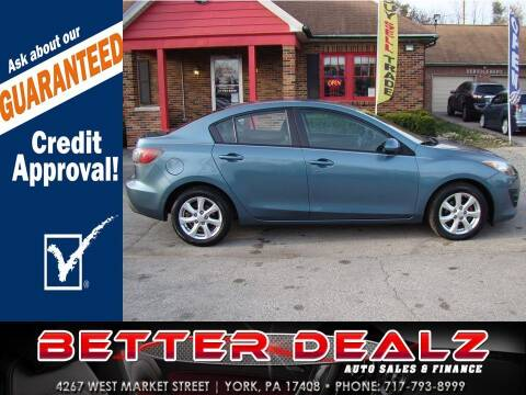 2010 Mazda MAZDA3 for sale at Better Dealz Auto Sales & Finance in York PA