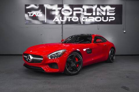 2016 Mercedes-Benz AMG GT for sale at TOPLINE AUTO GROUP in Kent WA